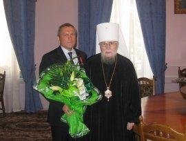 Православною Церквою нагороджений В. А. Шумілкін