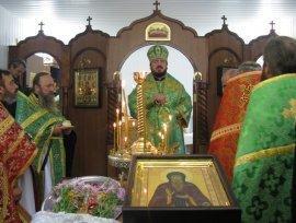 В Харькове освящен храм в честь благоверного князя Олега Брянского