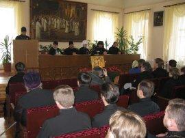 Престольный праздник Харьковской Духовной Семинарии