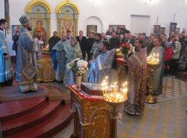 Престольный праздник храма Иверской иконы Божией Матери пос. Белый Колодец Волчанского района